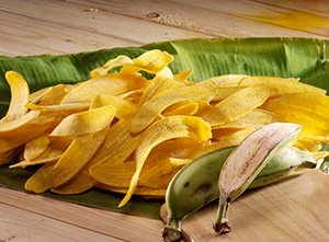 Long Cut Yellow Banana Chips